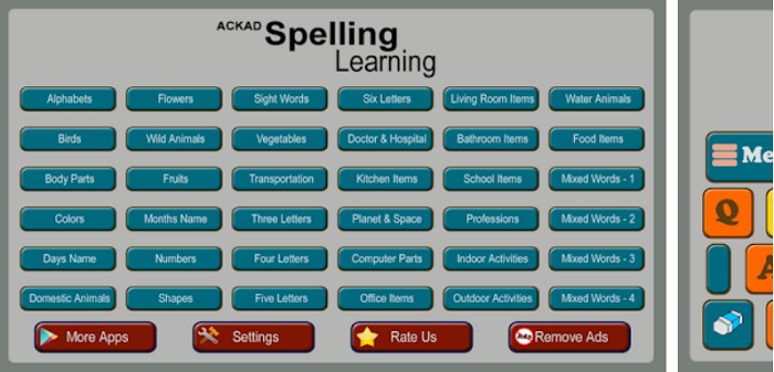 Kids Spelling Learning