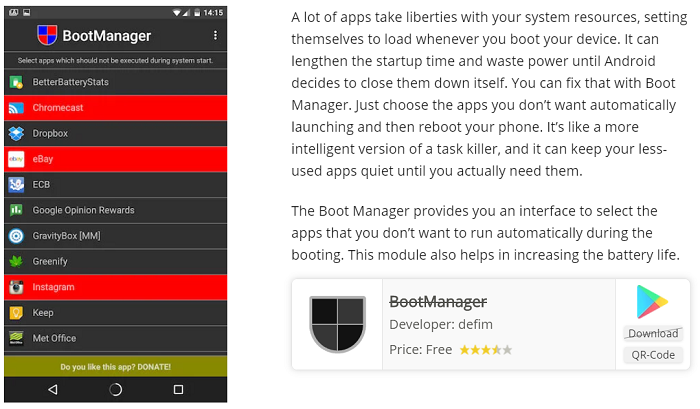 Boot Manager