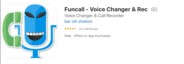 funcall Best Anonymous Voice Changer