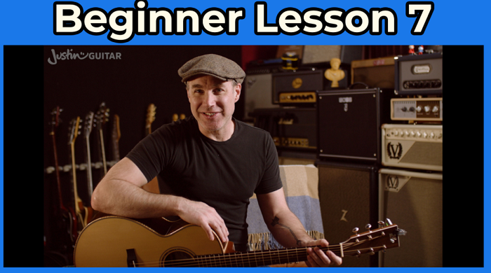 justin guitar beginner lesson