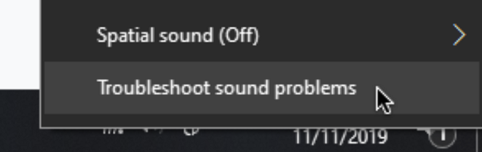 no audio output device is installed-troubleshoot problems