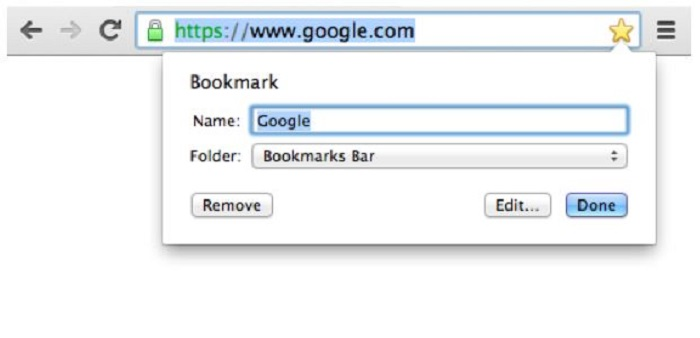 where does chrome store bookmarks